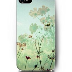 Case For Iphone 5S 5 , Ukase Protective Snap On Case Skin With Elegant Design Of Daisy Flowers