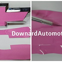 "Chevy Bowtie Pink Wrap Vinyl Decal Cutting D.I.Y. Kit -U-Cut From (2) Sheets 11"" X 4"" - Knife - Cotton Balls - Cleaning Alcohol - Instructions - Customize Your Grill & Rear Emblems"