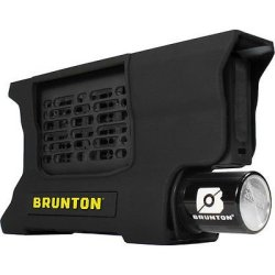 Brunton F-Reactor-Bk Hydrogen Reactor Portable Power Fuel Cell, Black