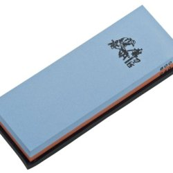 Magnum Whetstone 240/800 Knife Sharpening Stone, 2.3-Ounce, Blue