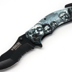 Walking Dead Zombie Knife With Artwork By Co-Creator Tony Moore