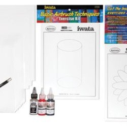 Iwata-Medea Artool Basic Airbrush Exercises