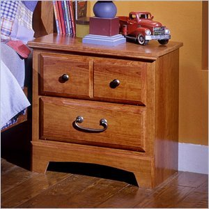 Image of Standard Furniture Standard City Park Kids Nightstand In Cherry Finish (B008D41LTY)