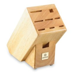 Mundial Solid Wood Kb-9 Series 9-Slot Knife Storage Block