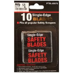 Bulk Buys Mt518 Single Edge Safety Blades, 10-Pack