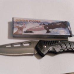 "Whitetail Cutlery 'Gentle Folder' Folding Lock-Blade Pocketknife With A 3.125"" Long Blade"