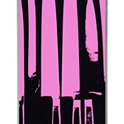 Purple Knives Pc Case Cover For Iphone 5 And Iphone 5S Transparent