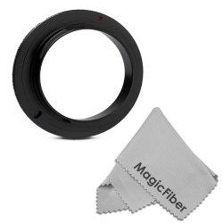 67Mm Macro Reverse Ring Camera Mount Adapter For Nikon (D7100 D7000 D5200 D90) Dslr Cameras + Magicfiber Microfiber Lens Cleaning Cloth
