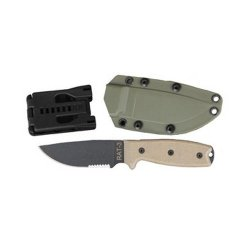 Rat-3 1095 Serrated - Green Sheath