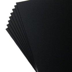 "Kydex V Sheet - 0.060"" Thick, Calcutta Black, 12"" X 12"" 8Pack"