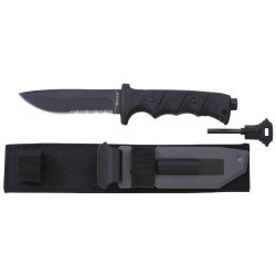 Maxam® Fixed Blade Knife With Fire Starter