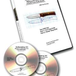Knifemaking 101, Instructional 2 Dvd Set