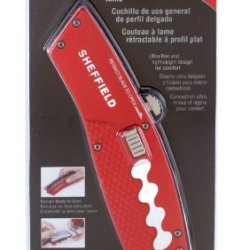Sheffield 58100 Flat Profile Retractable Utility Knife