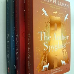 Philip Pullman His Dark Materials Trilogy: 3 Books - The Northern Lights / The Subtle Knife / The Amber Spyglass