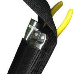 Ripoffs Utility Combo Holster For Mini Flashlight, Knife, Plier, Or Scissors Bl7 (Belt Loop)