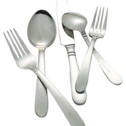 Hampton Forge Concierto Satin 48-Piece Flatware Set, Includes Steak Knives, 174Z0482Nd