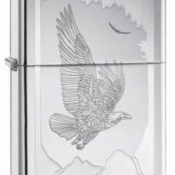 Zippo Birds Of Prey - High Polish Chrome