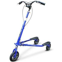 Trikke T78 Deluxe - 3 Wheeled Carving Vehicle (3Cv) (Blue Metallic)