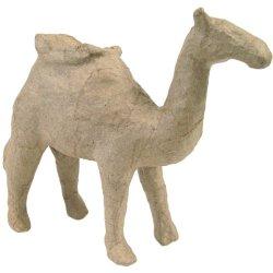 """Paper Mache Figurine 4.5""""-Camel"""