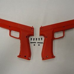 Red .45 Caliber Happ Type Ii Optical Pistol Gun Halves Kit