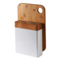 Typhoon Bamboo Connect Knife Block And Chopping Board Set