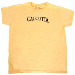 Calcutta Women'S Ladies Basic Short Sleeve Tee (Yellow, Small)