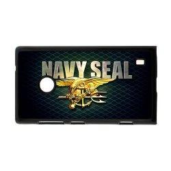 Jdsitem Unique U.S. Navy Seals Retiary Design Case Cover Sleeve Protector For Phone Nokia Lumia 520