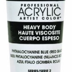 Liquitex Professional Heavy Body Acrylic Paint 2-Oz Tube, Phthalocyanine Blue (Red Shade)