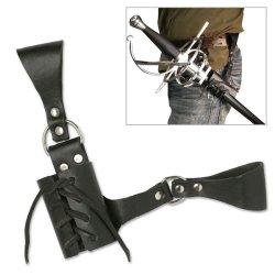 Leather Medieval Sword Frog Belt Hanger Rapier Renaissance