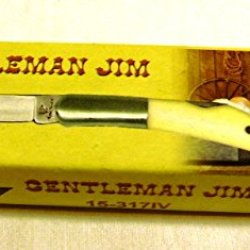 "Flying Falcon Gentleman Jim 2 7/8"" Folding Pocket Knife 15-317Iv"