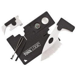 "Tool Logic Credit Card Companion With Lens & Compass ""Product Category: Hand Tools & Accessories/Knives"""