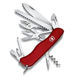New Victorinox Swiss Army Hercules Pocket Knife (Red)