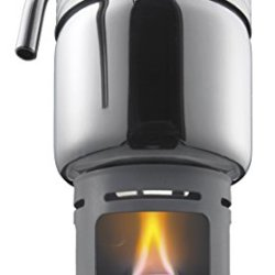 Esbit Stainless Steel Coffee Maker For Use With Solid Fuel Tablets