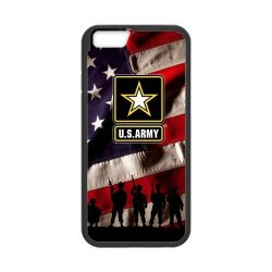 """Us Army Iphone 6 4.7"""" Case United States Army Logo And Us Flag Cases Cover (Laser Technology)"""
