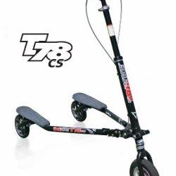 Trikke T78Convertible Steel-Black