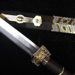 Pleasant Treasured Sword/Damascus Steel Blade/Alloy Fitting/Gifts Sword Sale