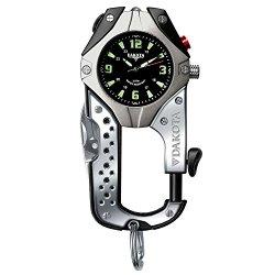 Dakota Watch Company Knife Clip Watch, Black