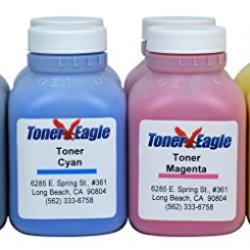 Canon Imageclass Mf8330Cdn Mf8350Cdn Two 4-Color Toner Refill Kit With Chips. 680Gr. By Toner Eagle