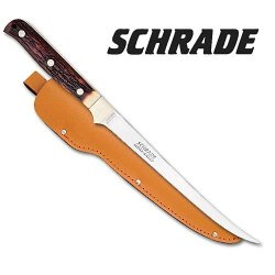 Schrade 167Uh Uncle Henry Steelhead Knife Fixed Blade