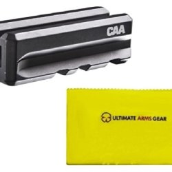 Caa Command Arms Blm15 Blm15-Blk Black + Ultimate Arms Gear Gun Care And Reel Silicone Cleaning Cloth Combo Kit