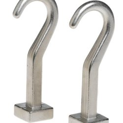 J.K. Adams 4-Inch Pot Hooks For Pot Rack, Set Of 2