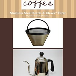 Washable & Reusable Cone Coffee Filter Fits Clever Coffee Drippers & Pour Over Gooseneck Kettle, Designed & Engineered By Crucial Coffee