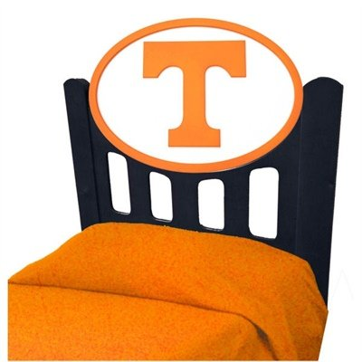 Image of Tennessee Titans Kids Wooden Twin Headboard With Logo (C0526B-Tennessee)