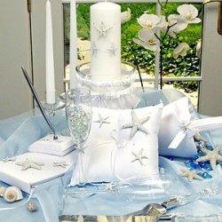 Raebella Weddings Starfish Tropical Beach Bride Wedding Accessories 5 Pc Set