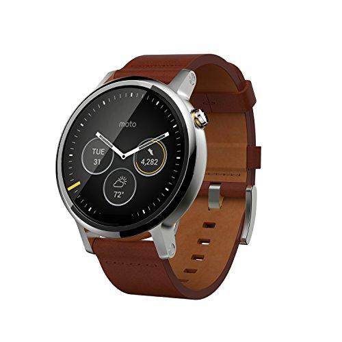 """Motorola Moto 360 - SmartWatch(WiFi, pantalla de 1.56"""", 2ª generación,..."""