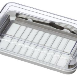 Stainless Butter Cutter & Case Btg2Dx (With A Butter Knife)(Japan Import)