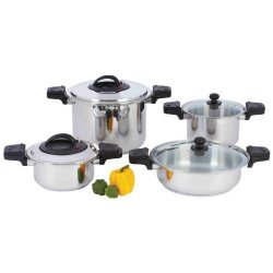 Incomparable Direct Sales Standout Cookware 12 Elem Pressure Cooker 8Pc St Exclusive