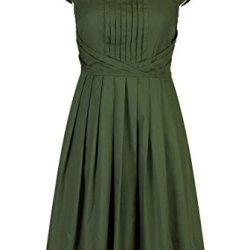 Eshakti Women'S Olivia Dress Xl-16 Regular Loden Green