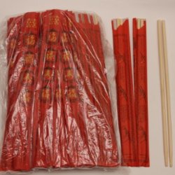 Disposable Bamboo Chopsticks 100 Sets