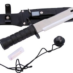 Wholesale Lot 30-Pc Case Hunting Knife Blade Stainless Steel W/ Survival Kit 15""